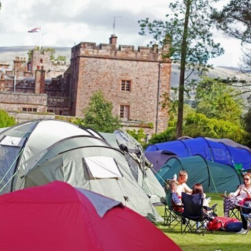 Pincic Cinema At Muncaster Campers Castle Small