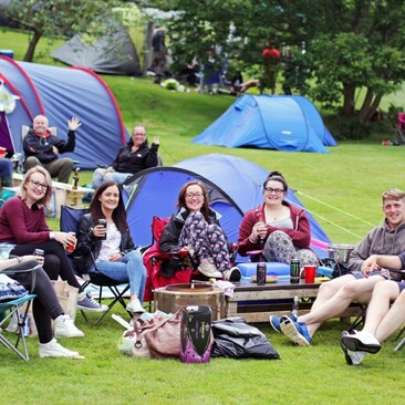 Picnic Cinema At Muncaster Campers Medium